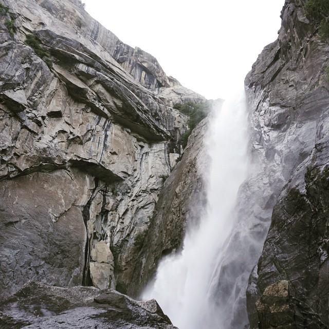 yosemite falls Roughabite visits