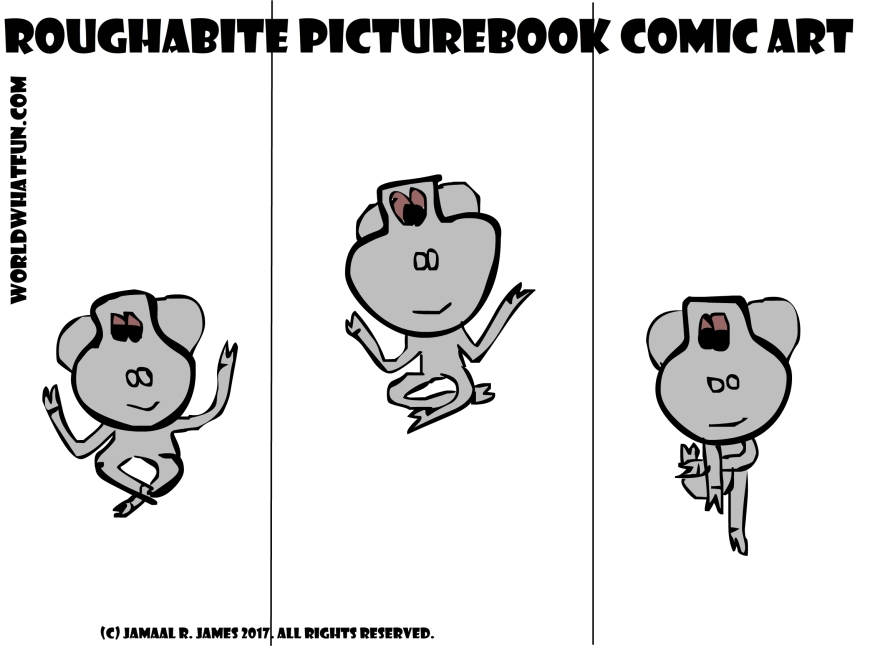Roughabite PictureBook Comic was created by Cartoonist Jamaal R. James