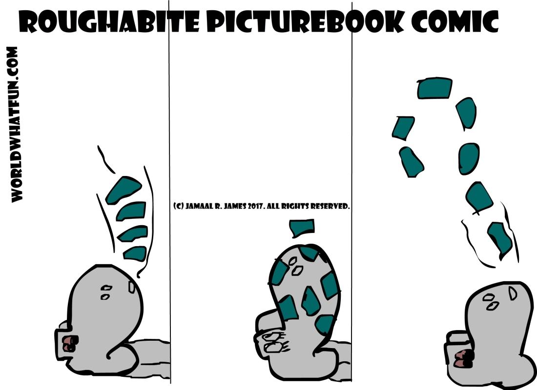 JCAAEC roughabite picturebook comic