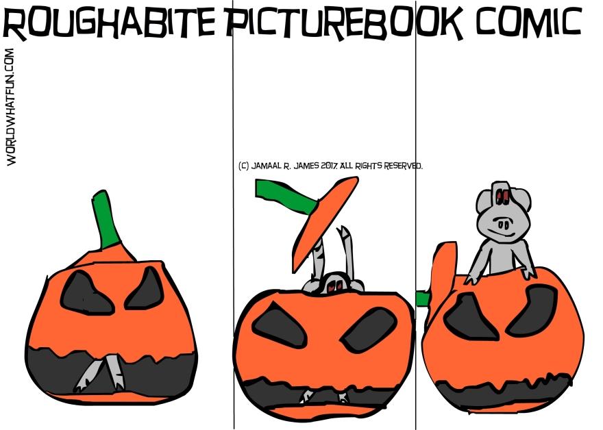 Childrens Literature Roughabite by Cartoonist Jamaal R. James