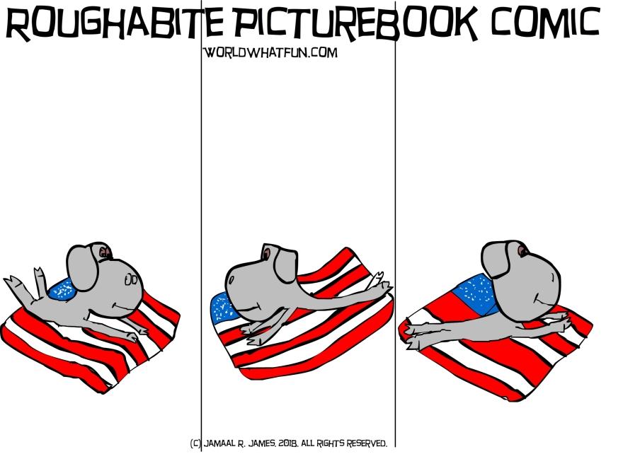 roughabite-flaggedup2-jcaaec-thisisAmerica